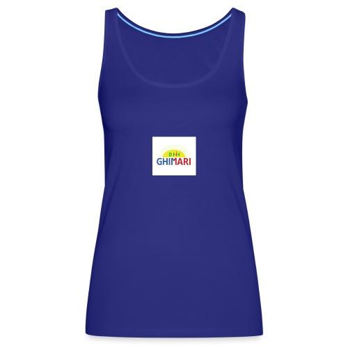 GHIMARI - Camiseta de tirantes premium mujer