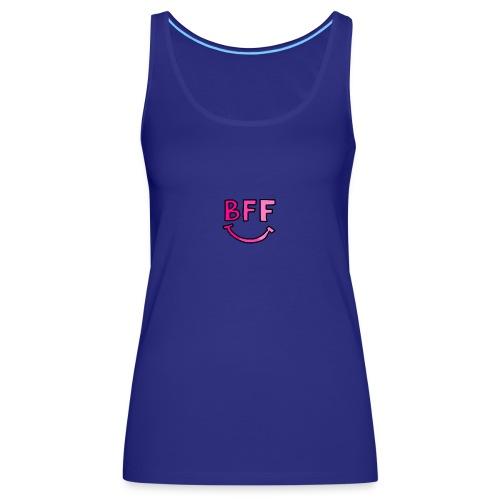 BFF Smilie Face - Frauen Premium Tank Top