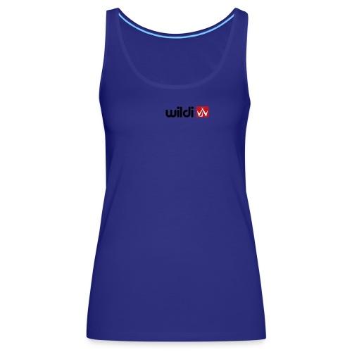 wildi black 2 - Camiseta de tirantes premium mujer