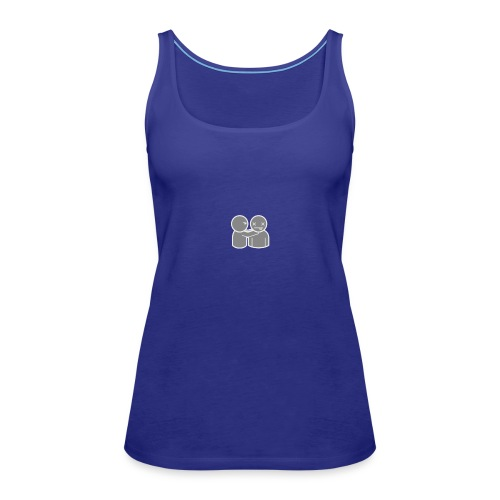 ghost 040 act 0070 png - Women's Premium Tank Top
