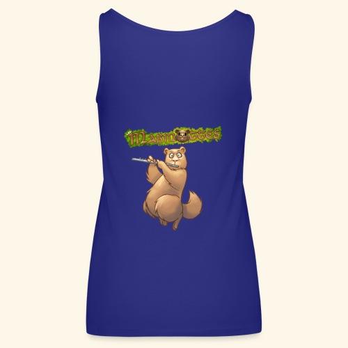 Tshirt Flute dos 2 - Débardeur Premium Femme