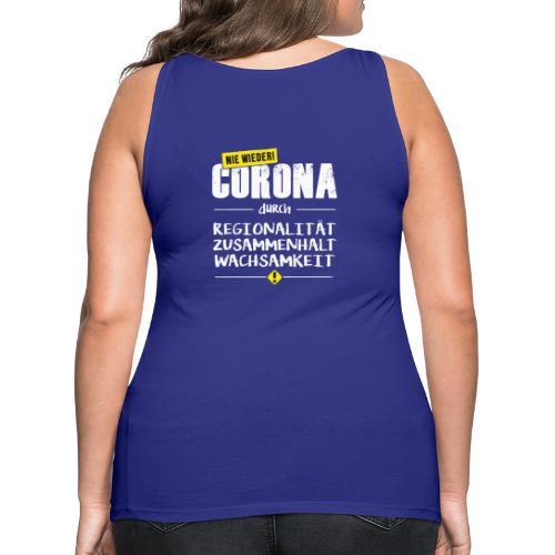 Covid-19 - NIE WIEDER Corona! - Frauen Premium Tank Top