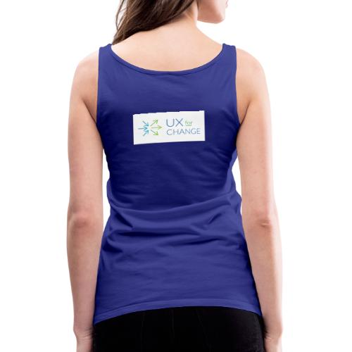 UX for Change - Women's Premium Tank Top