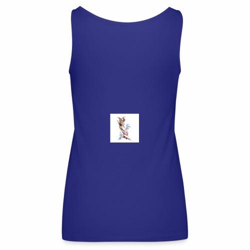 T-shirt con fenice - Canotta premium da donna