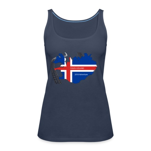 Four4Iceland Adventure - Frauen Premium Tank Top