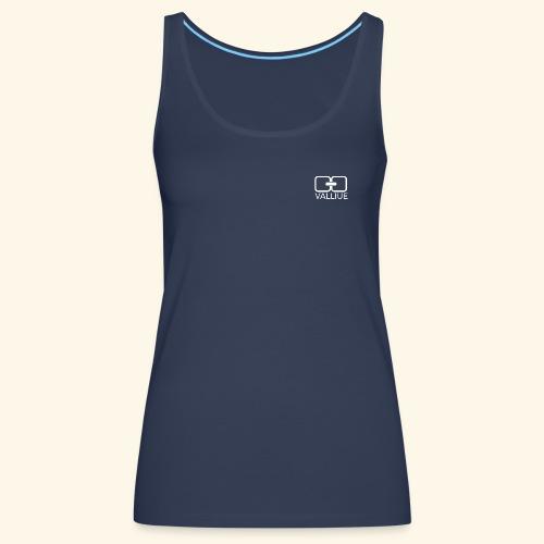 Cache-coeur Blue - Débardeur Premium Femme