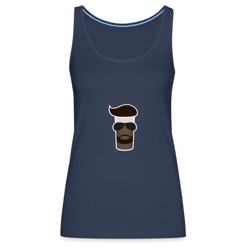 Sahne_Pudding Logo - Frauen Premium Tank Top