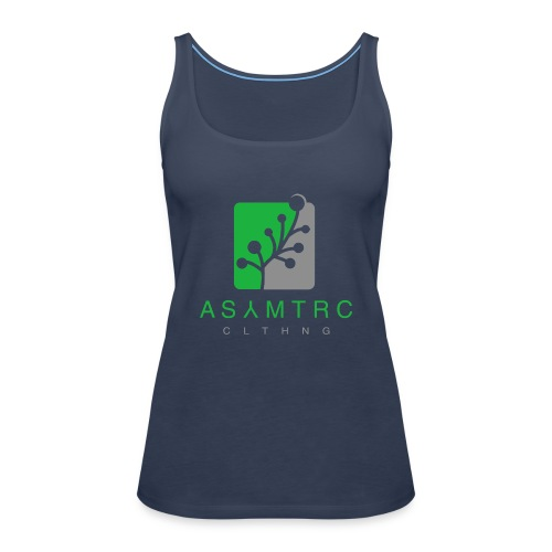 Asymetric Clothing - Imperfection at it's finest - Frauen Premium Tank Top