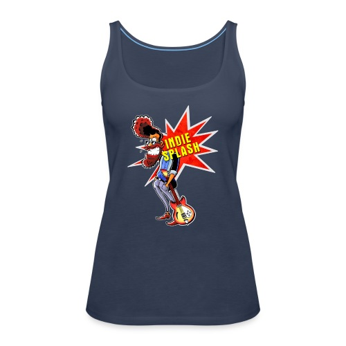 Indie Splash - Frauen Premium Tank Top
