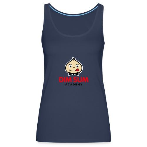 Dim Sum Academy Logo noir - Débardeur Premium Femme
