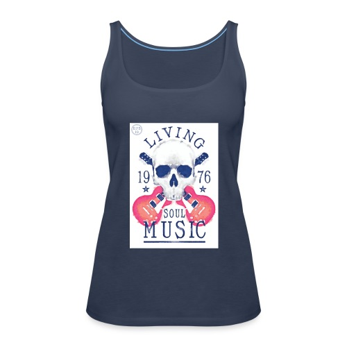 shutterstock_191744201 - Camiseta de tirantes premium mujer