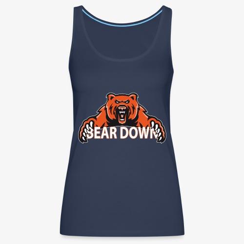 Bear down - Frauen Premium Tank Top