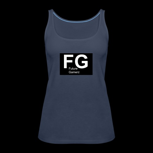 FG lofo boxed black boxed - Women's Premium Tank Top