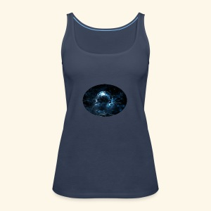 Water swirl - Premium singlet for kvinner