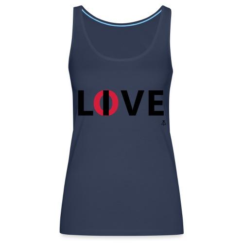 Love live - Vrouwen Premium tank top