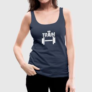 Train - Women's Premium Tank Top