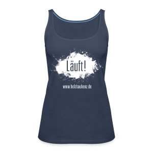 Läuft! white - Frauen Premium Tank Top