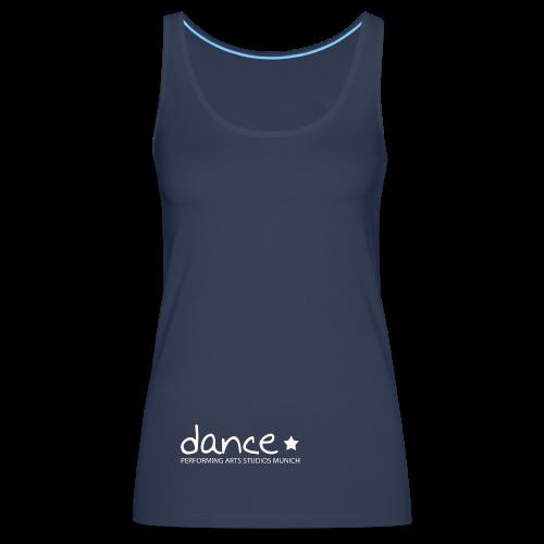Dance *weiß* - Frauen Premium Tank Top