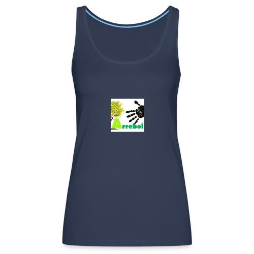 logo_arrebol_bueno - Camiseta de tirantes premium mujer