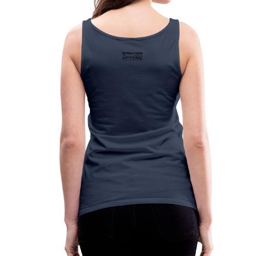 Sprüche T-Shirt Scheitern ist keine Option - Frauen Premium Tank Top