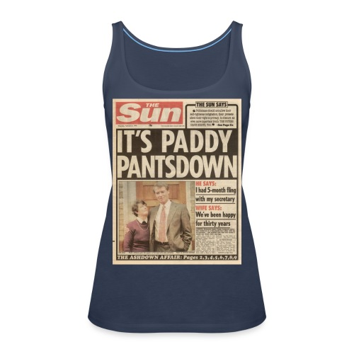 It s Paddy Pantsdown FP C - Women's Premium Tank Top