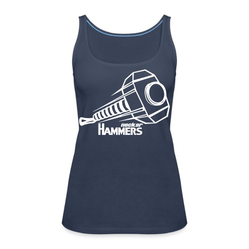 Logo + Name - Frauen Premium Tank Top