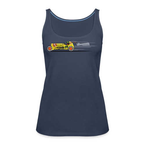 The Race - Frauen Premium Tank Top