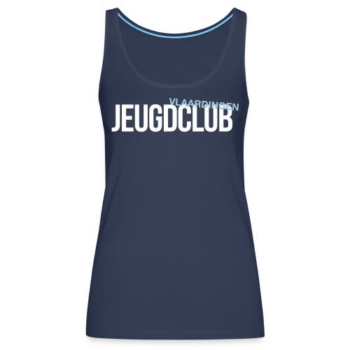 JeugdClub Logo Blauw - Vrouwen Premium tank top