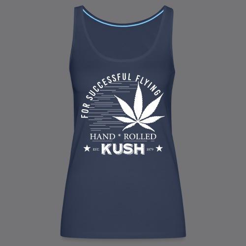 KUSH VINTAGE Tee Shirts - Women's Premium Tank Top