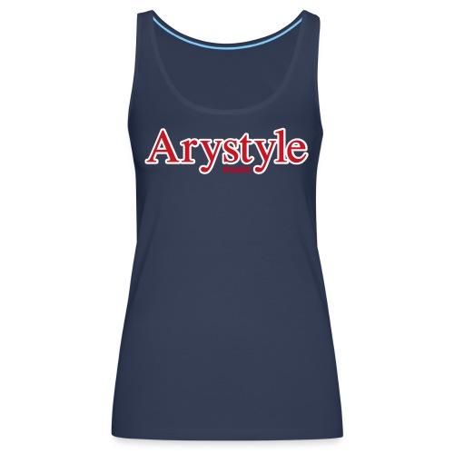 Arystyle Rouge Contour B - Débardeur Premium Femme
