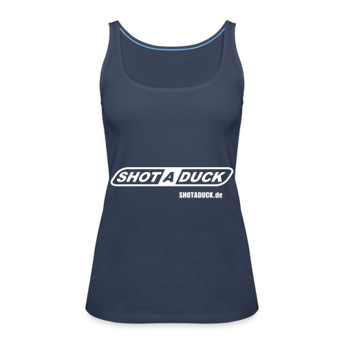 shotaduck fan shirt - Frauen Premium Tank Top