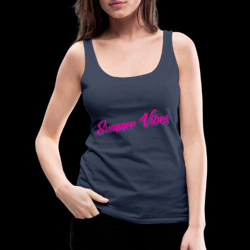 Summer Vibes - Frauen Premium Tank Top
