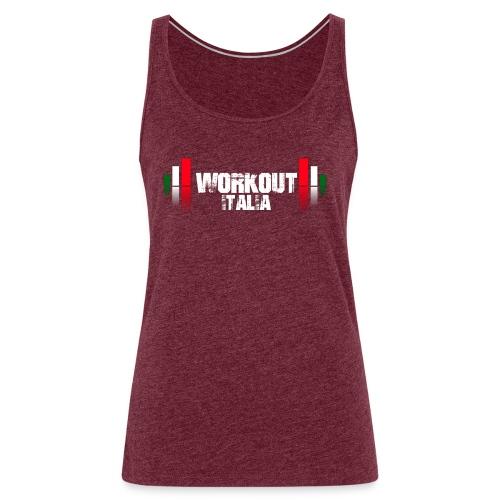 Workout Maglia Scura - Canotta premium da donna