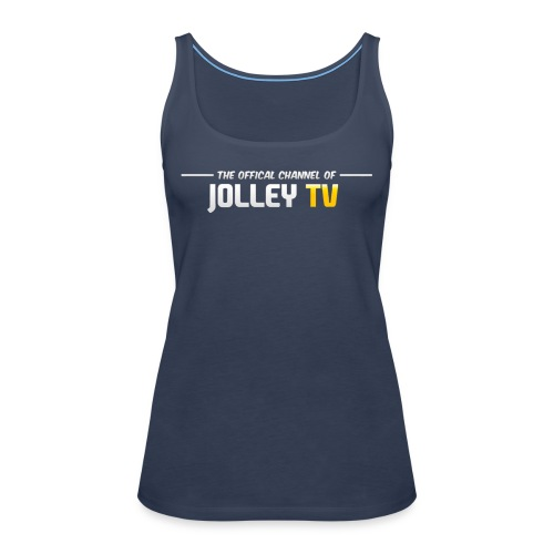 JolleyTV logo - Women's Premium Tank Top