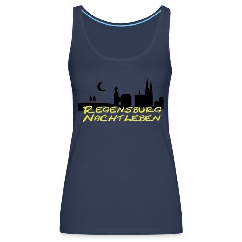 Regensburg Nachtleben - Frauen Premium Tank Top