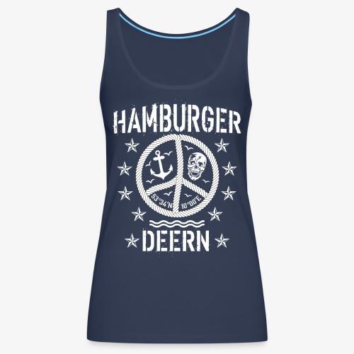 97 Hamburger Deern Peace Friedenszeichen Seil - Frauen Premium Tank Top