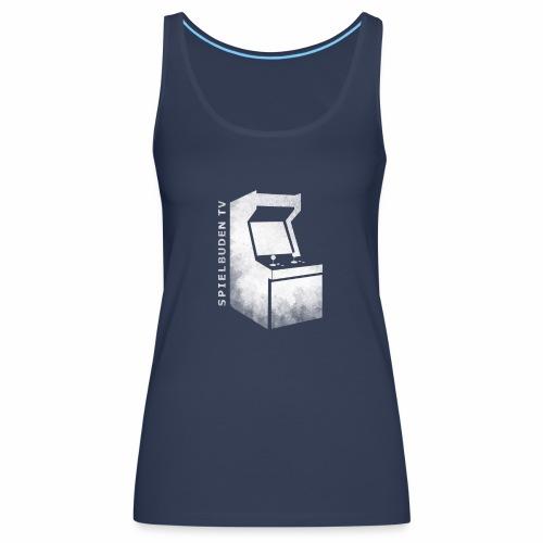 ENDLOGO sprenkelig Logo schrift png - Frauen Premium Tank Top