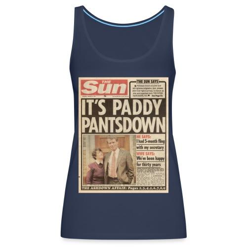 It s Paddy Pantsdown FP C - Women's Premium Tank Top