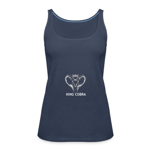KING COBRA - Camiseta de tirantes premium mujer