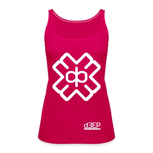 July D3EP Blue Tee - Women's Premium Tank Top