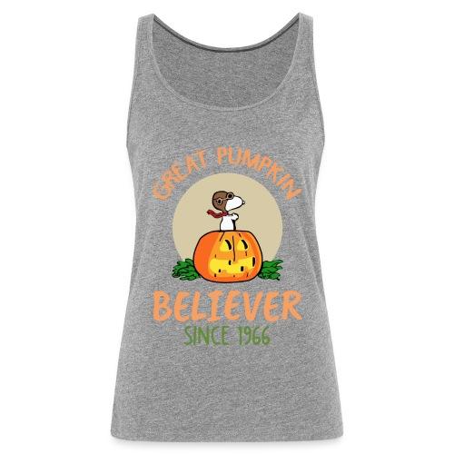 Great pumpkin believer since 1966 - Women's Premium Tank Top
