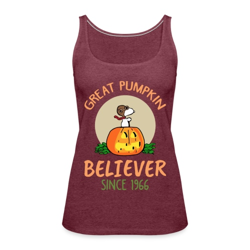 Great pumpkin believer since 1966 - Women's Premium Tank Top