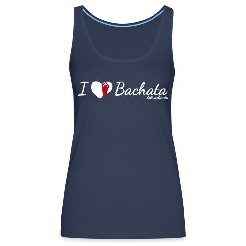 i love bachata black - Frauen Premium Tank Top