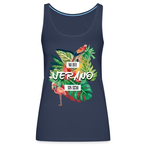TEMPORADA DE VERANO3 - Camiseta de tirantes premium mujer
