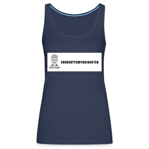 ebmlogoplustexthalvstor - Women's Premium Tank Top