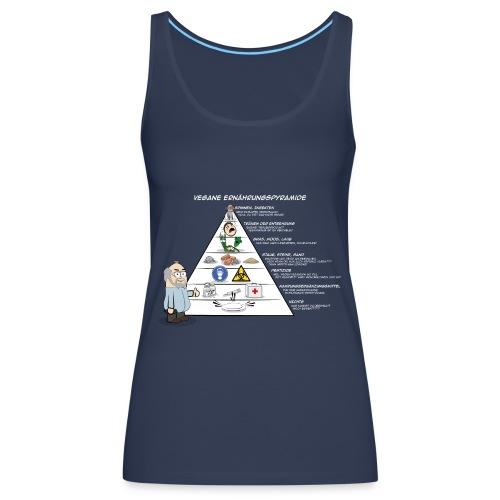 vegane Ernährungspyramide - Frauen Premium Tank Top