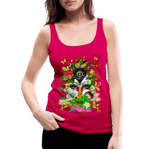 Parfum d'été by T-shirt chic et choc - Débardeur Premium Femme