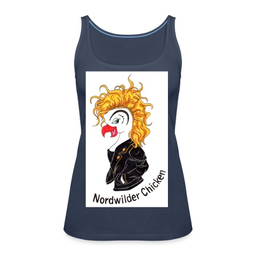 Chicken Logo - Frauen Premium Tank Top