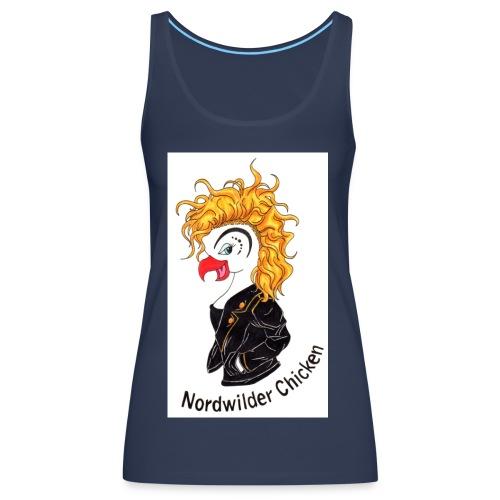 Chicken Logo - Frauen Premium Tank Top
