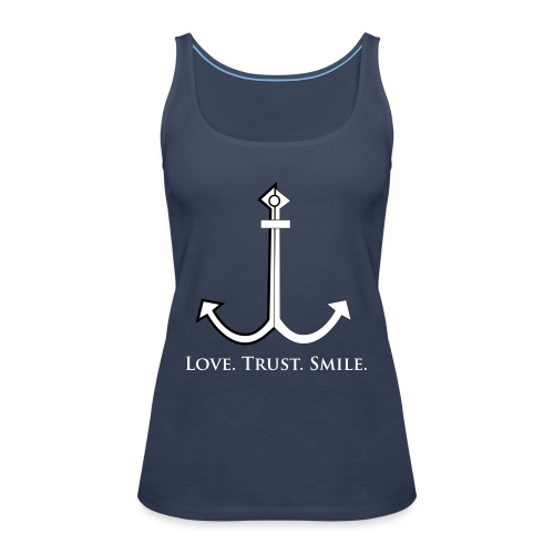 Love Trust Smile - Frauen Premium Tank Top